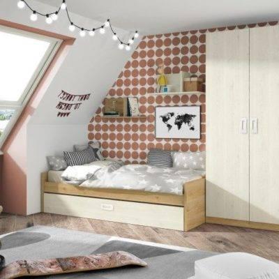 Dormitorio juvenil básico