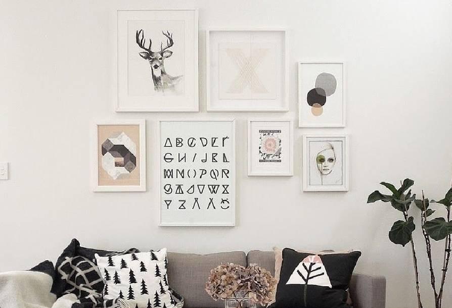 ¿Cómo colocar fotos en la pared? Tendencia DIY