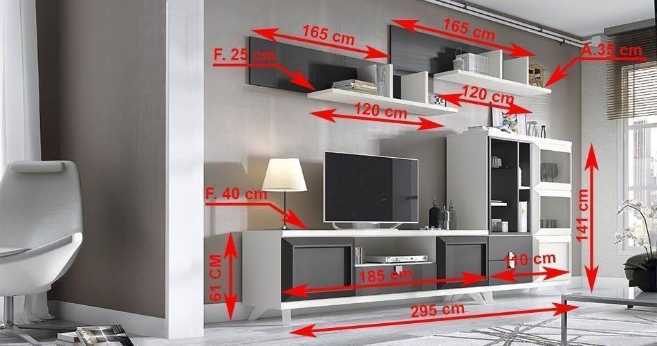 Cómo medir espacios antes de comprar muebles