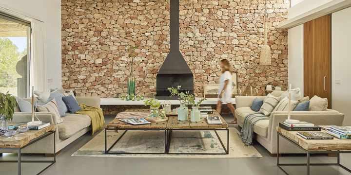 6 ideas para aprovechar el espacio detrás del sofá