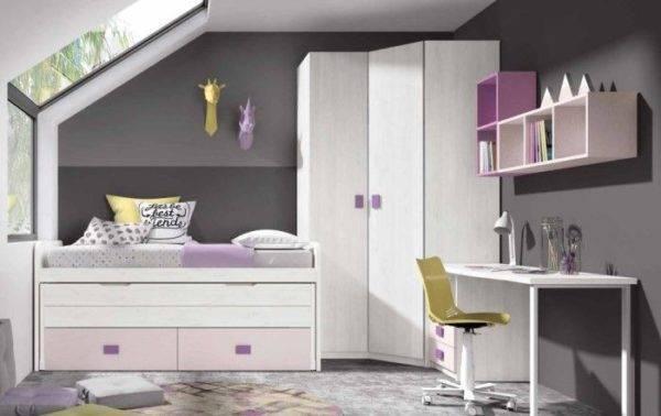 Los mejores dormitorios juveniles modernos para espacios pequeños