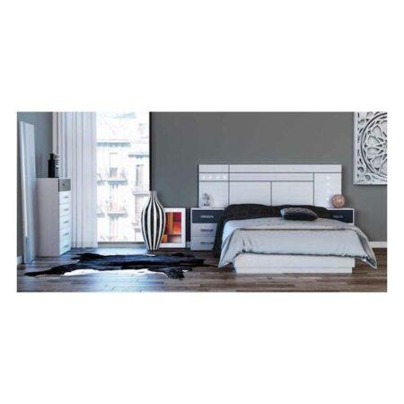 Dormitorio Charlotte cabecero figurativo