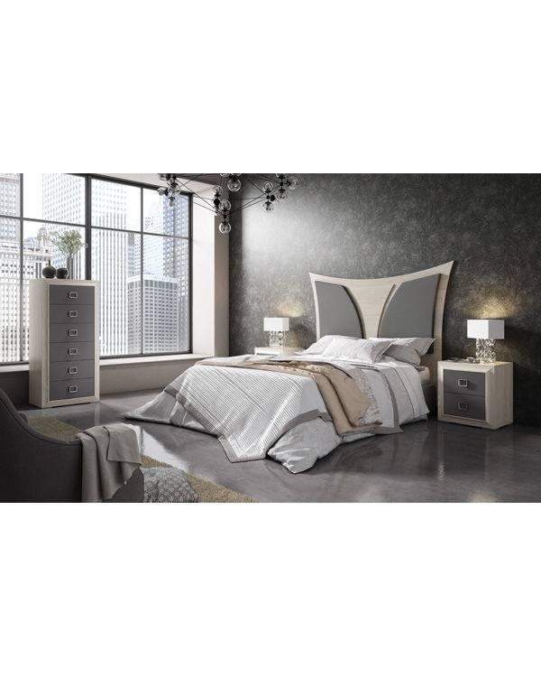 Dormitorio Adele cabecero moderno