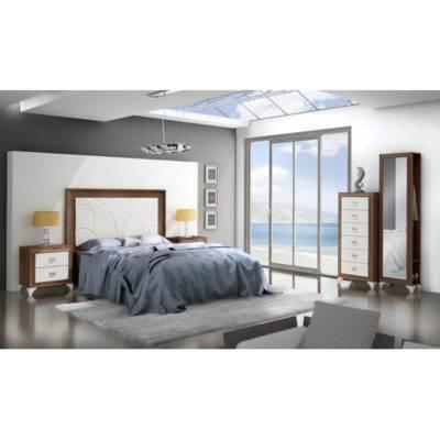 Dormitorio Adele cabecero enmarcado