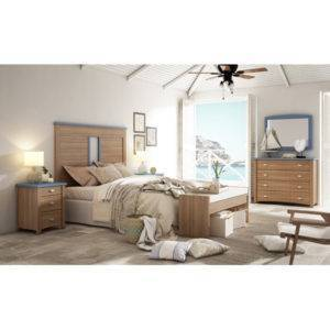 Dormitorio Alison cabecero dividido