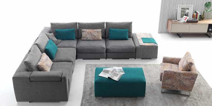 Elige el sofá más adecuado para cada tipo de salón