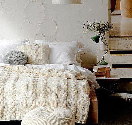 Cómo vestir tu cama para el invierno